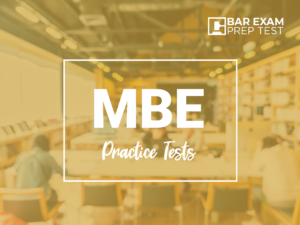 MBE Practice Test